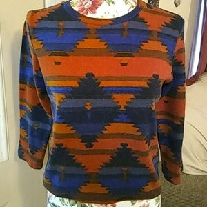 AWESOME Aztec Crop top